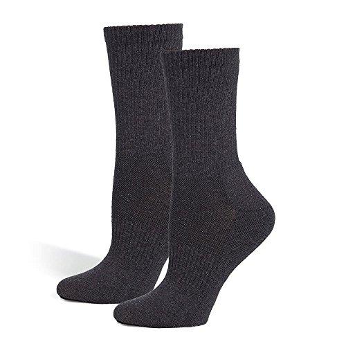 Safersox Mückensocken-Sportsocken Socken - Anthrazit, 43-46