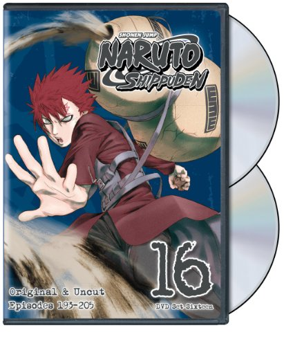 Naruto Shippuden Uncut Set 16 (DVD)