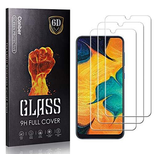 Conber Panzerglasfolie für Samsung Galaxy A51, [3 Stück] 9H gehärtes Glas, Kratzfest, Blasenfrei, Hülle Freundllich Hochwertiger Panzerglas Schutzfolie für Samsung Galaxy A51
