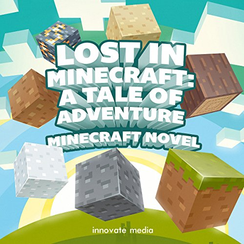 Lost in Minecraft audiobook cover art