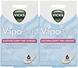 Vicks VapoPads Baby Rub Waterless Vaporizer Pads - Pack of 2 (Packaging may vary)