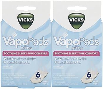 Vicks VapoPads Baby Rub Waterless Vaporizer Pads - Pack of 2  Packaging may vary