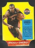 2011-12 Panini Past and Present Bread For Energy Die Cut #2 Leandro Barbosa