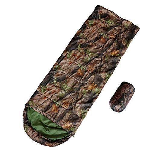 SOLVHK Schlafsack Dschungel König Outdoor Camouflage Ultraleicht Umschlag Typ Reißverschluss Baumwolle Schlafsack Wasserdicht Tragbare Für Wandern Reise