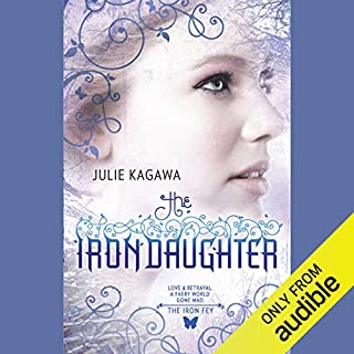 The Iron Daughter audiobook cover art