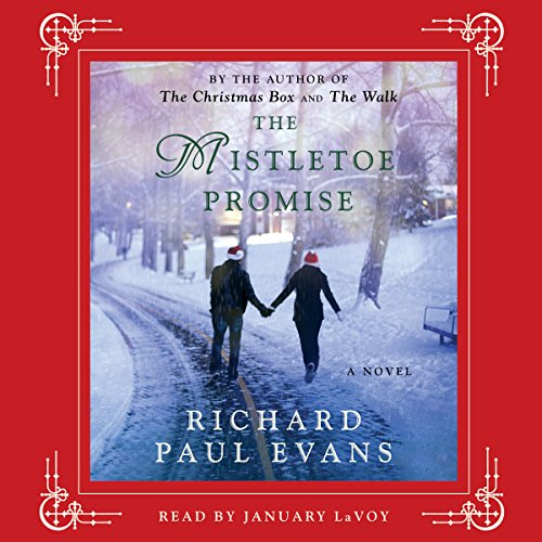 The Mistletoe Promise audiobook cover art