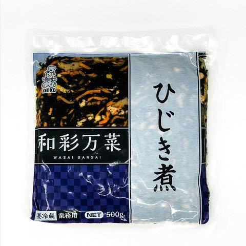 ケンコーマヨネーズ 和彩万菜 ひじき煮 500g 【冷凍・冷蔵】 2個