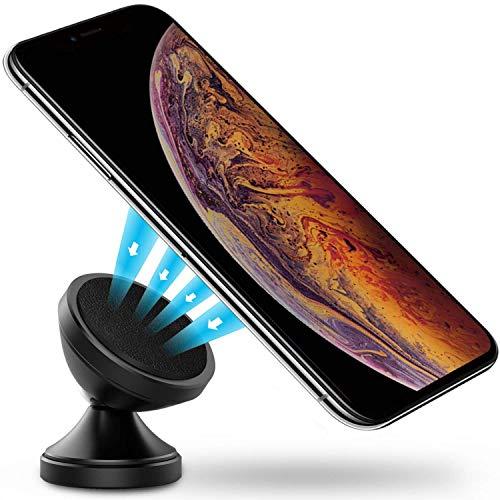 Power Theory telefoonhouder voor in de auto - magnetische telefoonhouder met 3M sticker voor iPhone XS Max X 8 7 Plus 6s SE Samsung S10 S9 S8 S7 S6 motorvoertuig houder smartphone mobiele telefoon houder universele autohouder