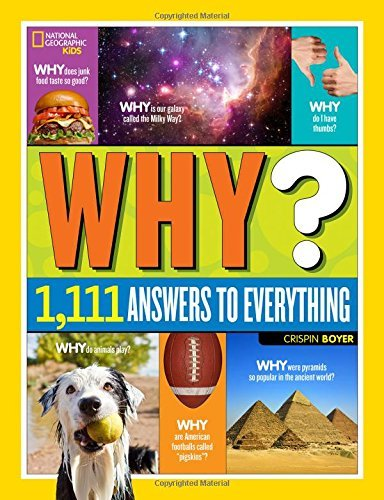 [By Crispin Boyer] National Geographic Kids Why? (Hardcover)【2015】by Crispin Boyer (Author) (Hardcover)