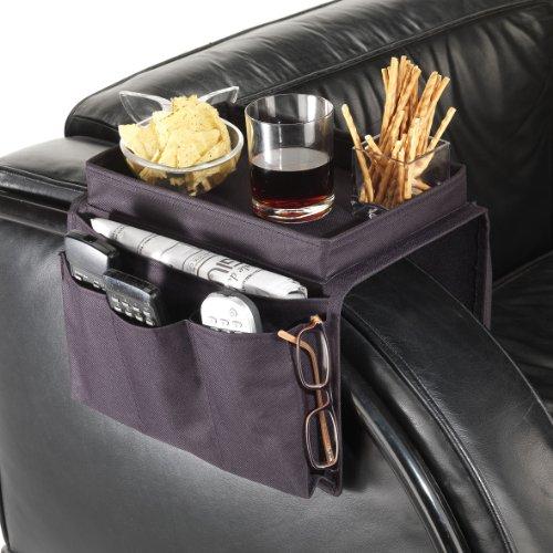 Maiuguali 11079 organizer porta telecomandi da divano o poltrona vassoio con 5 tasche