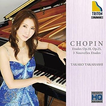 Chopin : Etudes Op.10 & 25 - 3 Nouvelles Etudes