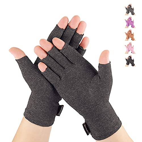 Arthritis Compression Gloves Relieve Pain from Rheumatoid, RSI,Carpal Tunnel, Hand Gloves Fingerless...