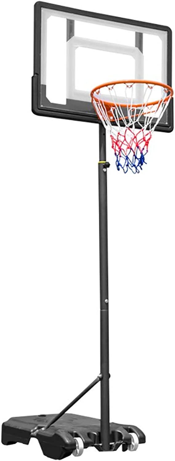 Height Adjustable Basketball Stand w Wheels 165210cm (65  to 83 )   Outdoor Basketball Hoop Stand Toy Set for Kids Toddler