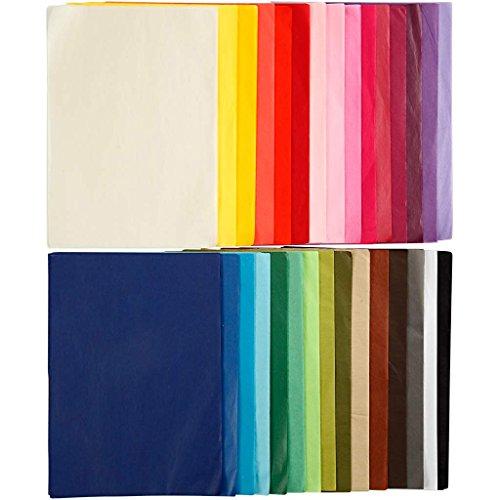 CREAVVEE 100263 Surtido de papel de tela, 21 cm x 29,7cm, 300 piezas