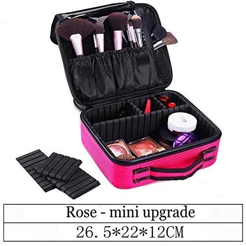 WYXHMHZSN Boîte de rangement pour boîte à cosmétiq Sac cosmétique de partition de stockage professionnel cas cosmétique portable multifonction large à double couche kit de clou de tatouage personnalis