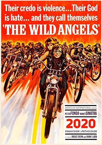 Calendario de pared 2020 [12 páginas 8 x 11 pulgadas] Bikers Vintage...