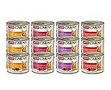 Comida para gatos animonda Carny Adult, comida húmeda para gatos adultos, pack mixto 1, 12 x 200 g