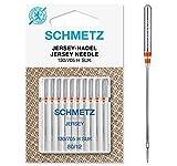 SCHMETZ Nähmaschinennadeln | 10 Jersey-Nadeln | 130/705 H SUK | Nadeldicke 80/12 | auf...