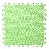 Janly Clearance Sale Decoración del hogar, 11.81 pulgadas cuadrado rompecabezas alfombra ecológica, para Navidad hogar y jardín, (A)