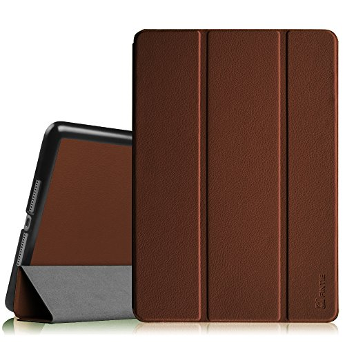 Fintie Slimshell Case for iPad Air 9.7' - Lightweight Stand Smart Protective Cover with Auto Sleep/Wake Feature for iPad Air 2013 Model, Brown