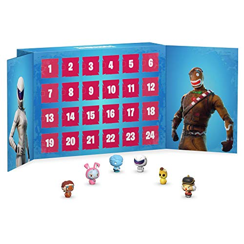 Funko Pop Advent Calendar: Fortnite Calendario Adviento, Multicolor, Talla Única (42754)