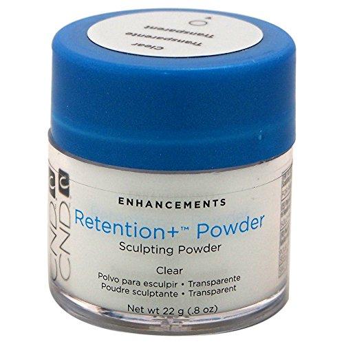 CND Enhancements Retention Plus Powder, Clear, 22 g