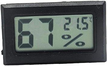 Mini LCD Temperatura Humedad Cubierta Habitación Medidor De Humedad Indicadores De Humedad del Sensor De Temperatura Humedad