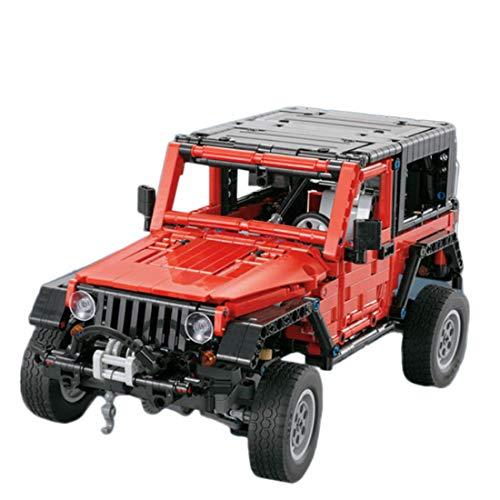 OATop Technik Offroader Modell, 1287Teile Auto Jeep Geländewagen Custom Bausteine Bausteine Kompatibel mit Lego Technic