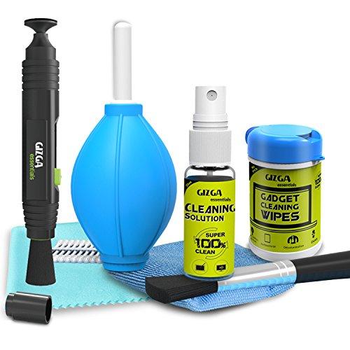 Gizga Essentials Professional Lens Pen Cleaning Pro System + 6-in-1 Cleaning Kit + Professional...