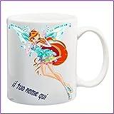 My Cust Mug Tazza Winx,Fata Bloom, Personalizzata con Nome Frase O Foto - Idea Regalo
