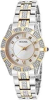 Bulova 98L135 Crystal Two-Tone MOP Dial Ladie's Watch