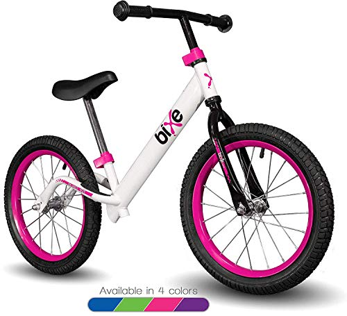Pink Pro Balance Bike for Big Kids and Kids with Special Needs - 16