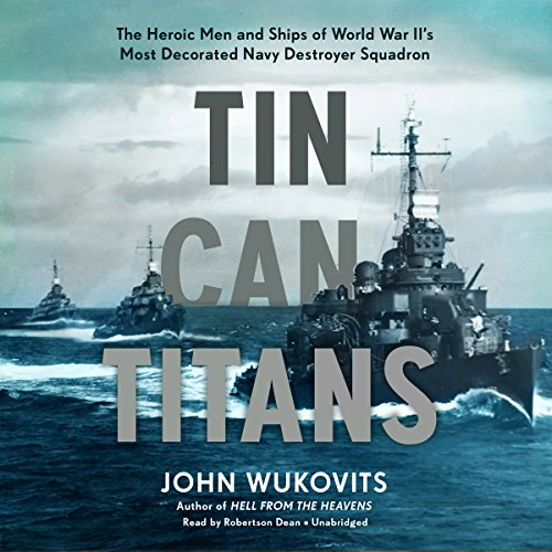 Tin Can Titans audiobook cover art