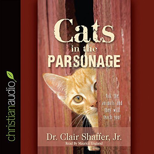 Cats in the Parsonage audiobook cover art