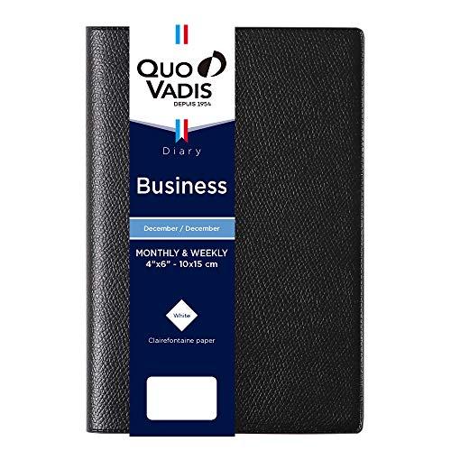 クオバディス2021年版12月始ビジネスアンパラブラックqv00401bk