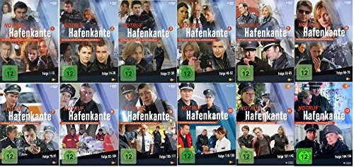 Notruf Hafenkante - Staffel 1+2+3+4+5+6+7+8+9+10+11+12 komplett (1-12) * DVD Set