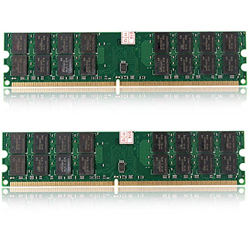 Tutoy 8GB 2X4GB DDR2 800MHZ PC2-6400 240 Pines Desktop