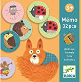 Djeco Educativos Memo Animales (38116), Multicolor (1)