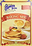 Pioneer Biscuit and Baking Mixes are quick, easy and delicious Only the finest ingredients are used to assure all-day-in-the-kitchen results, Pioneer products have been favorite staples in the kitchens of families across America. Pioneer brand - Maki...