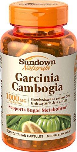 sundown Naturals Garcinia Cambogia Dietary Supplement Vegetarian...