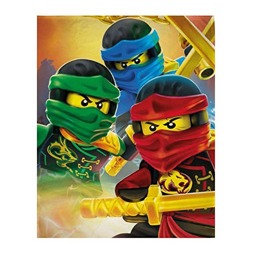 Lego Ninjago Fleecedecke 130x170 cm