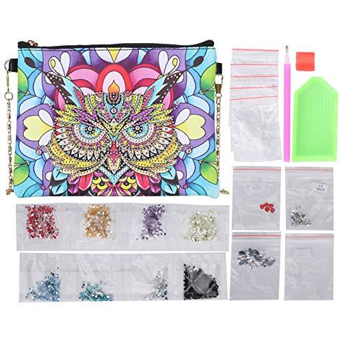 DIY handtas, DIY schilderij portemonnee, met ketting voor familie verjaardagen Moederdag vrienden