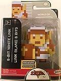 World of Nintendo The Legend of Zelda 8-Bit White Link Exclusive Figure 2.5 Inches