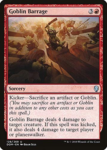 Magic: the Gathering MTG - Goblin Barrage - Dominaria Dom 128/280 English
