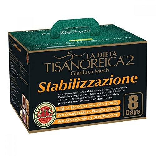 Gianluca Mech 67104 Bauletto Kit Tisanoreica 2 Stabilizzazione, 8 Giorni