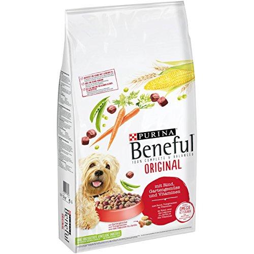 PURINA BENEFUL Original Hunde-Trockenfutter: mit Rind, Gemüse & Vitaminen,...