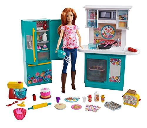 Congelador Y Nevera Dos Puertas Americana  marca Barbie