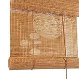 ZXL Außenrollos/Jalousien für Veranda Pergola Pavillon Patio Hinterhof, Bambus Licht Filter Rolltore mit Zubehör (Size : 120cm×160cm)