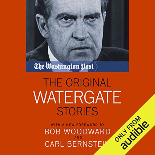 The Original Watergate Stories audiobook cover art