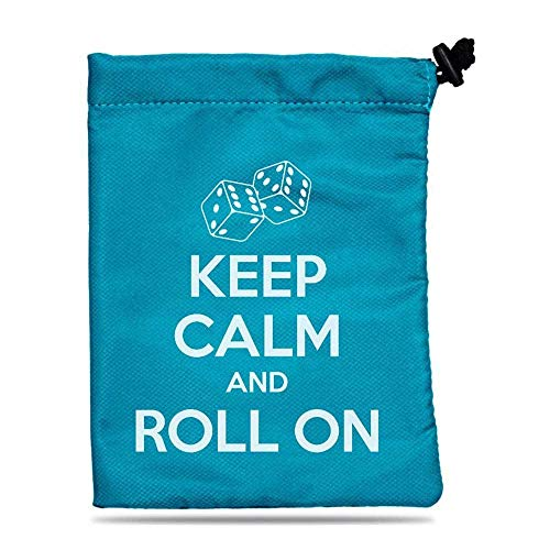 Ultra Pro Dice Bag - Treasure Nest - Keep Calm
